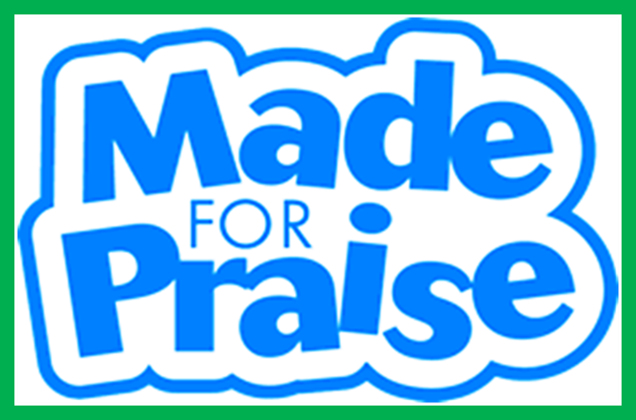 logo made for praise children's choir